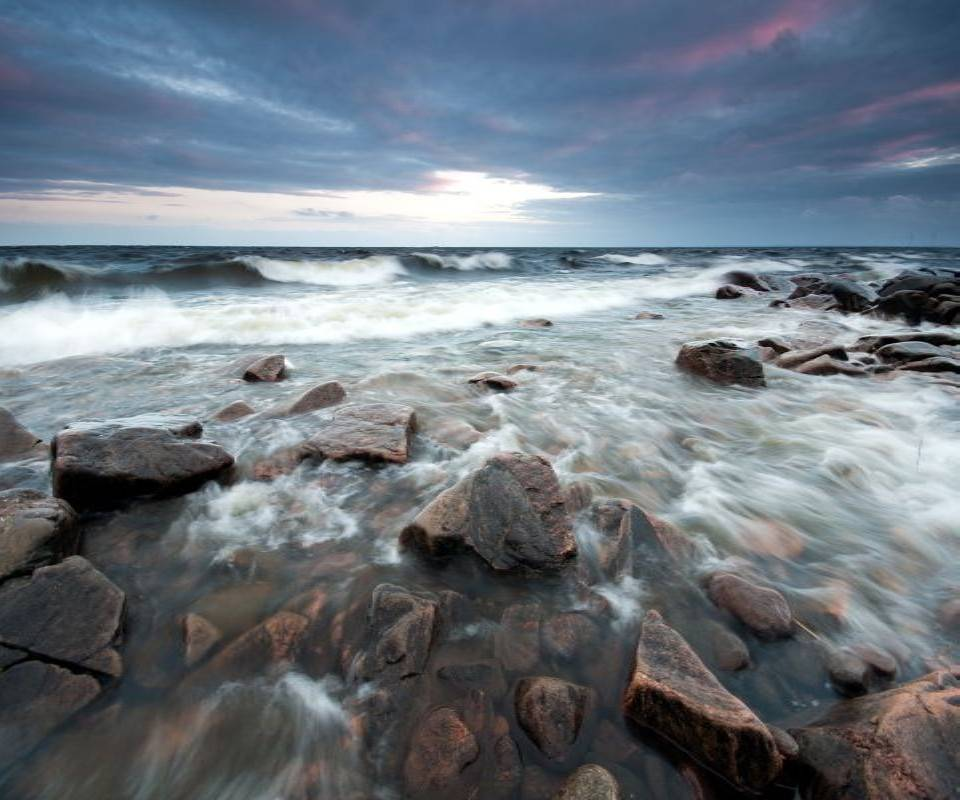 Stones Beach Waves