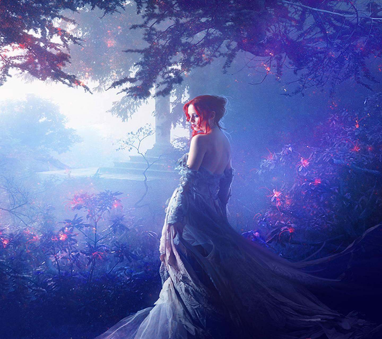 Красивые картинки таинственных женщин