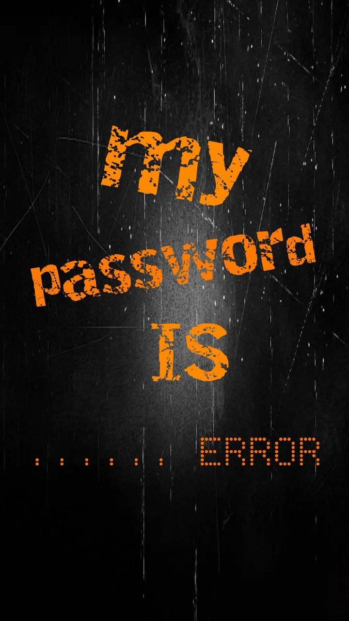 My Password Is