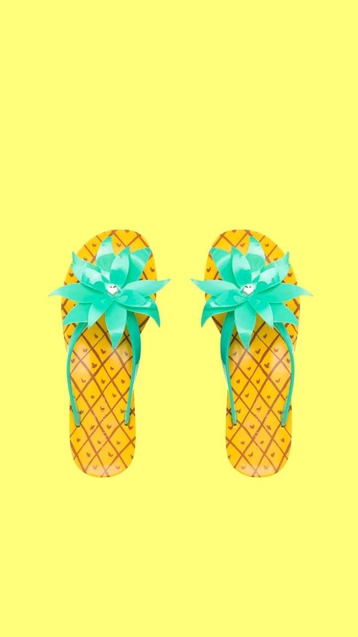 Pineapple sandals