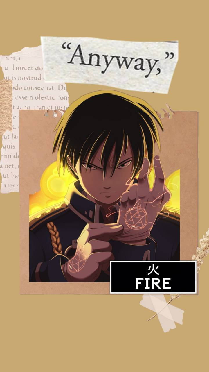 Roy Mustang collage