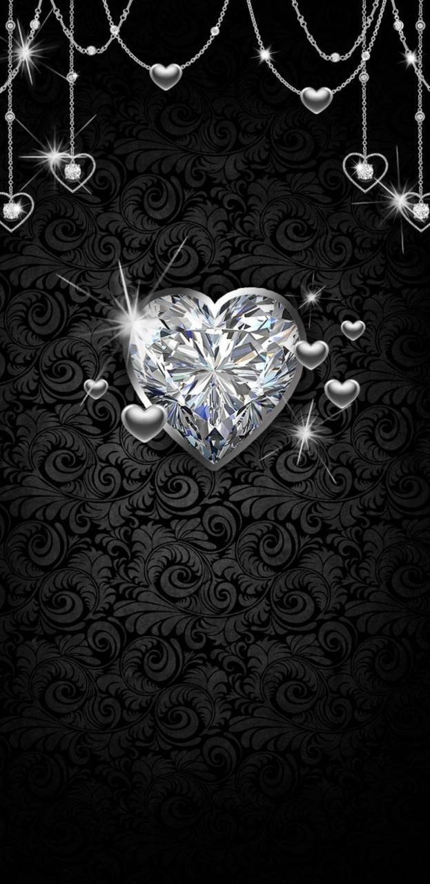 Silver Hearts Wallpaper By Princessofwallpapers 0e Free On Zedge