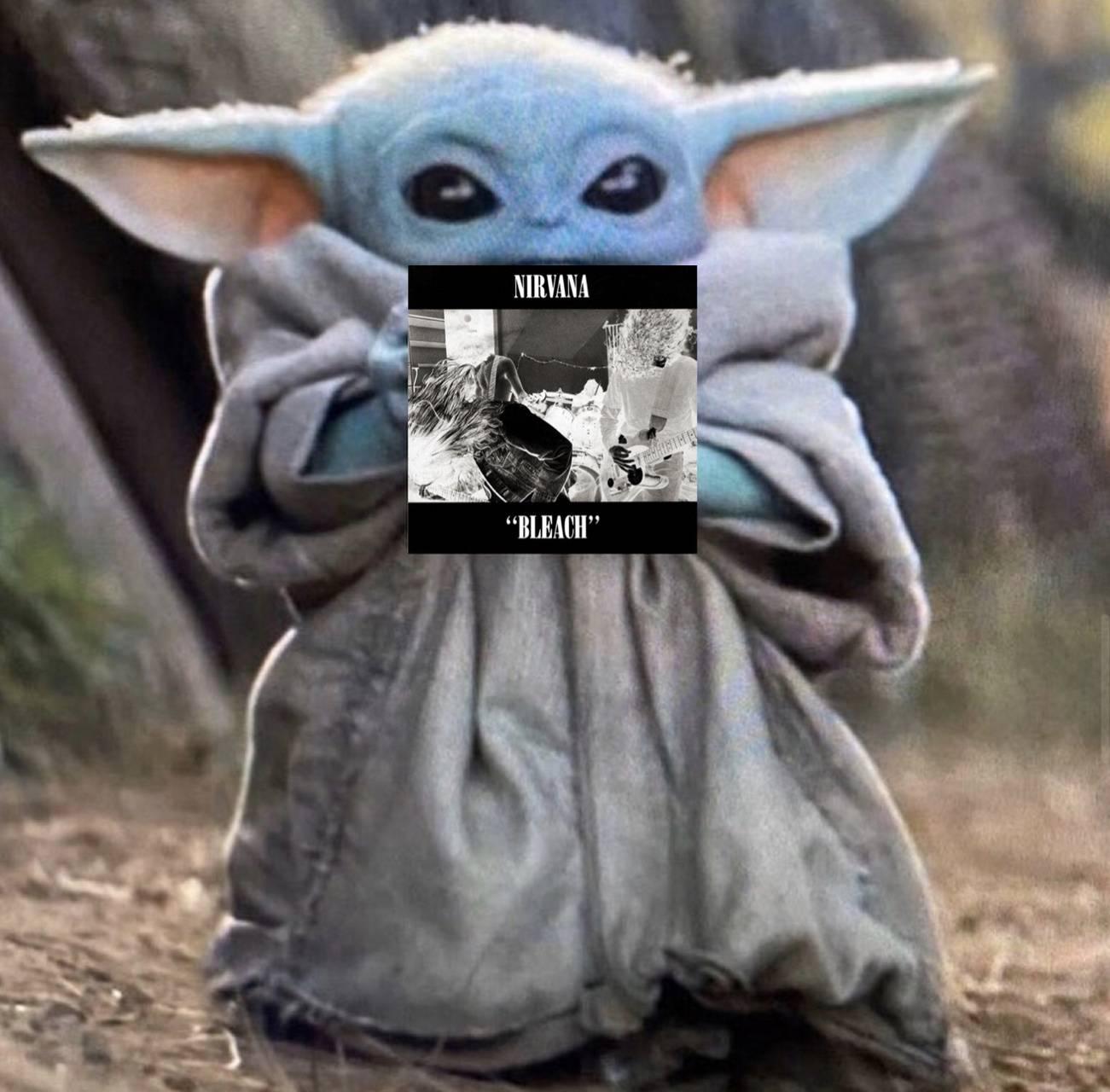 Baby Yoda Bleach