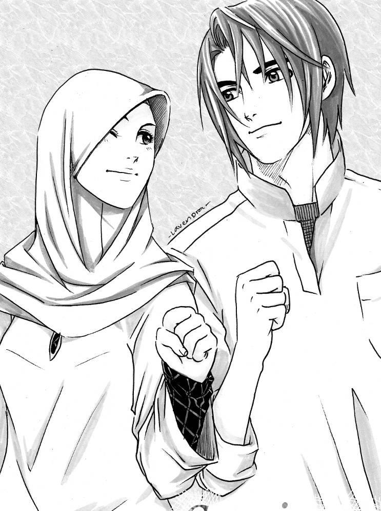 Download Wallpaper Couple Muslim Hd Cikimm Com