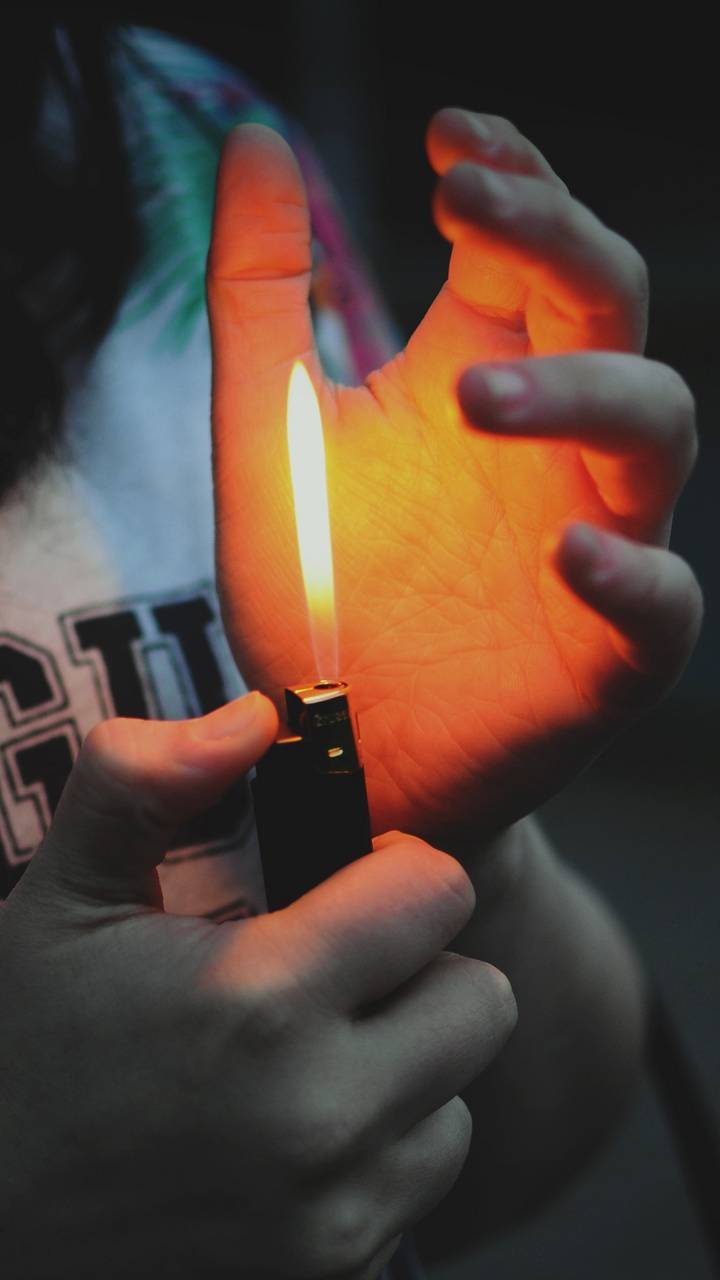 Hand with lighter Wallpaper by mr_shani - 87 - Free on ZEDGE™