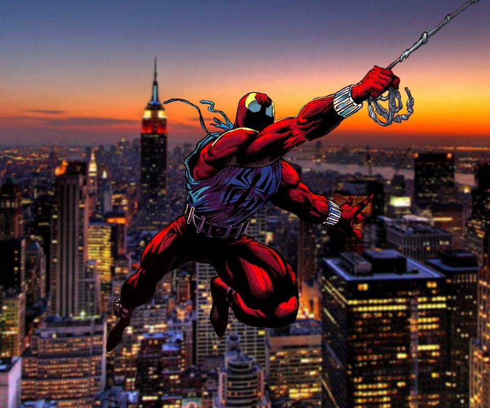 Scarlet Spider Swing