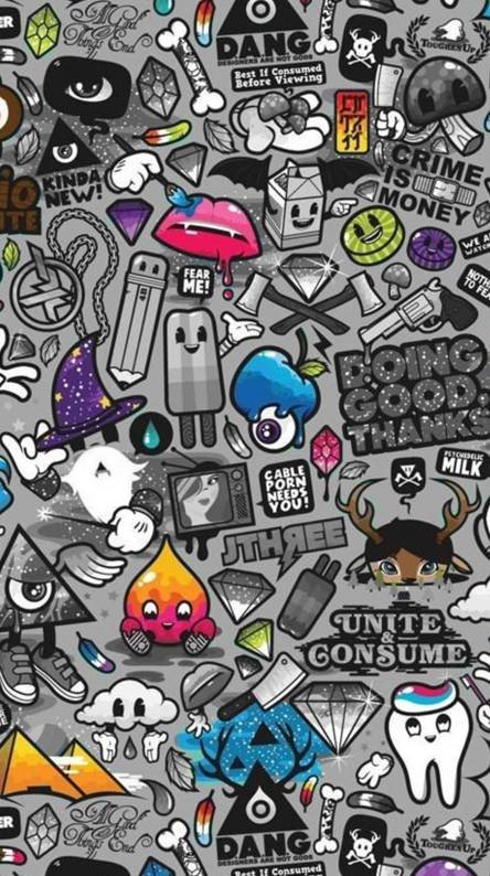 Sticker Bombing Wallpapers