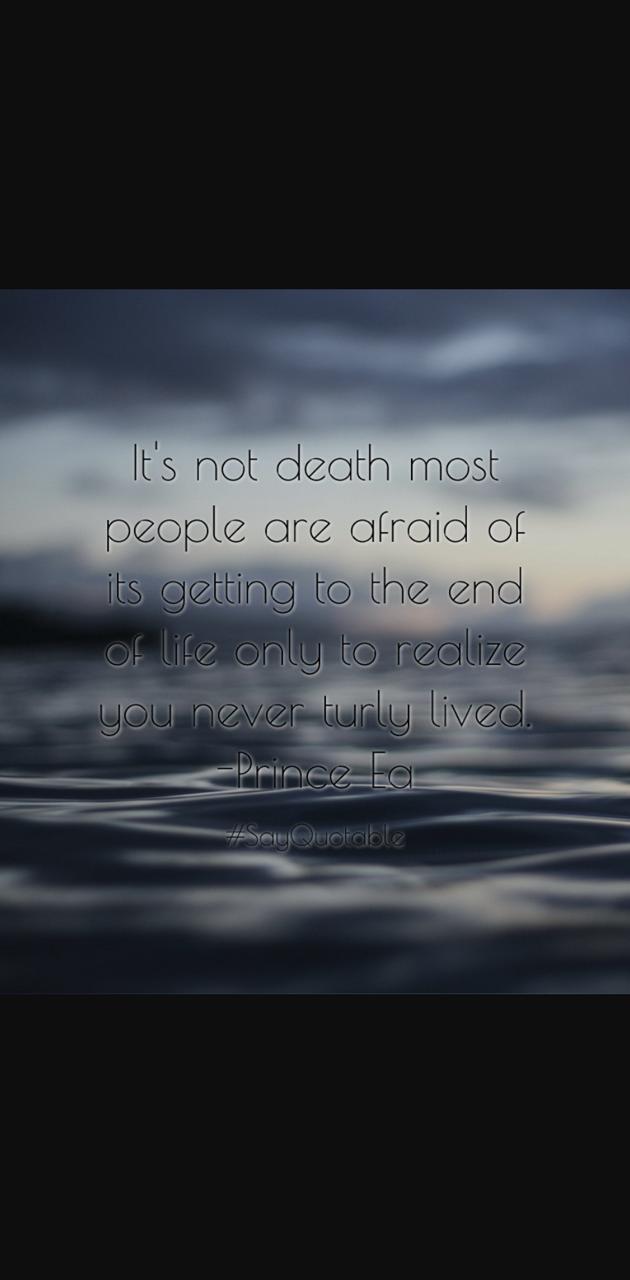 Never lived