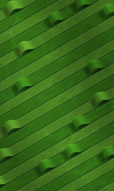 Green Stripes 3d