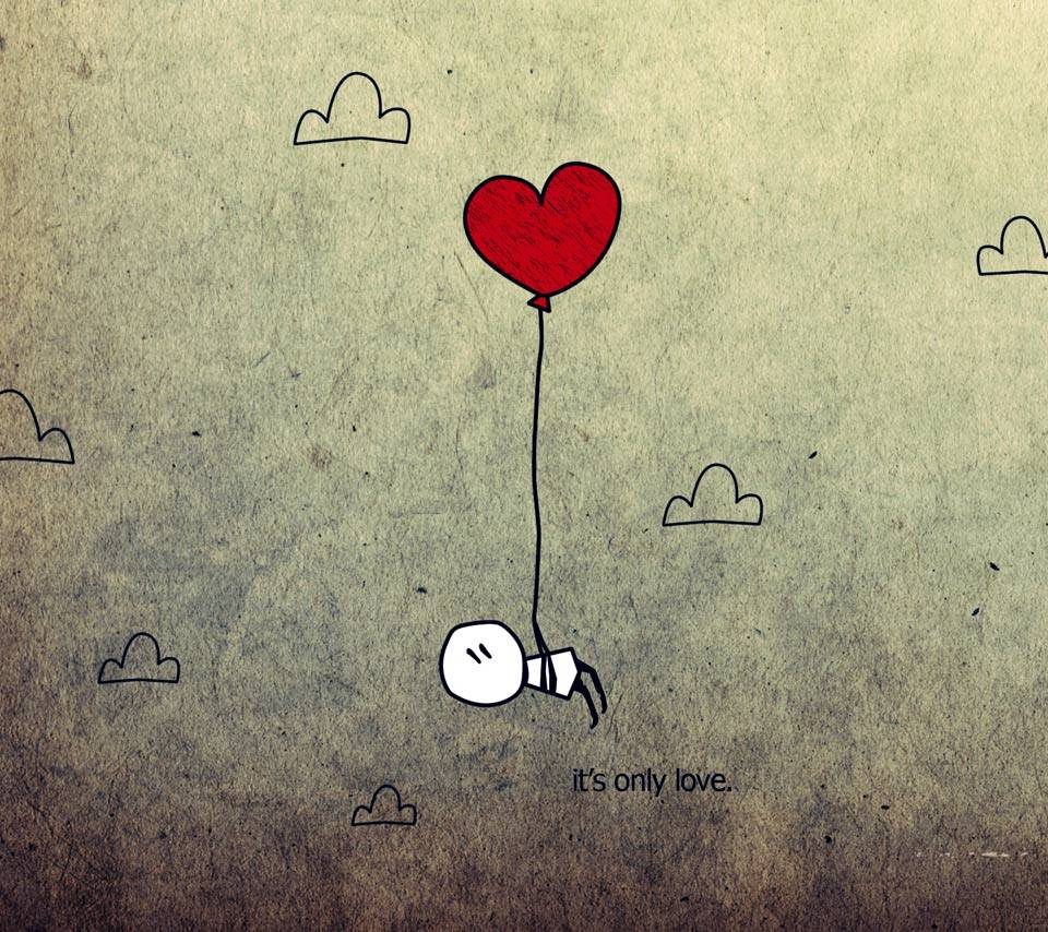 Its Only Love Wallpaper By Electric Girl 3c Free On Zedge