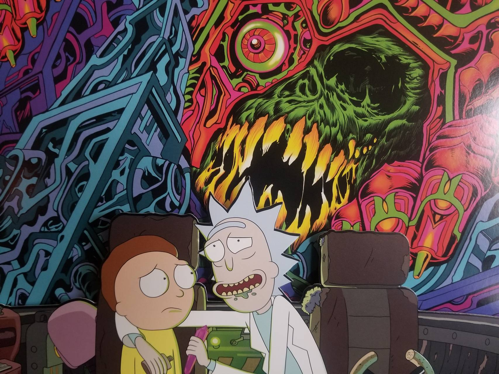 Rick Morty Skull