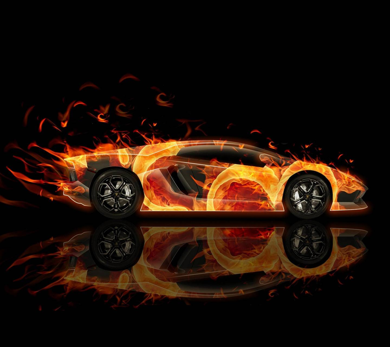 Lamborghini Fire