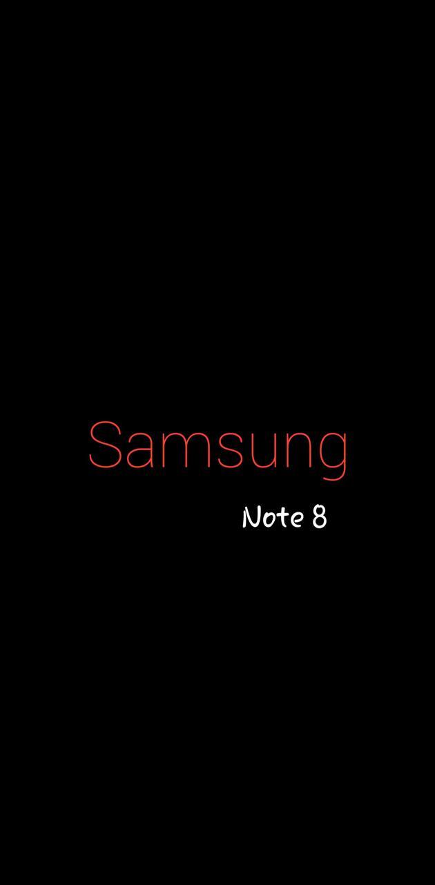 Samsung note 8 Red