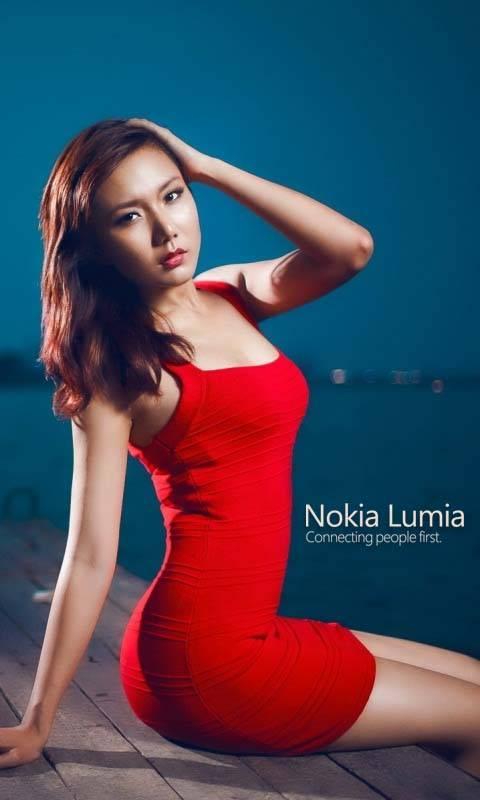 Nokia Lumia Girl