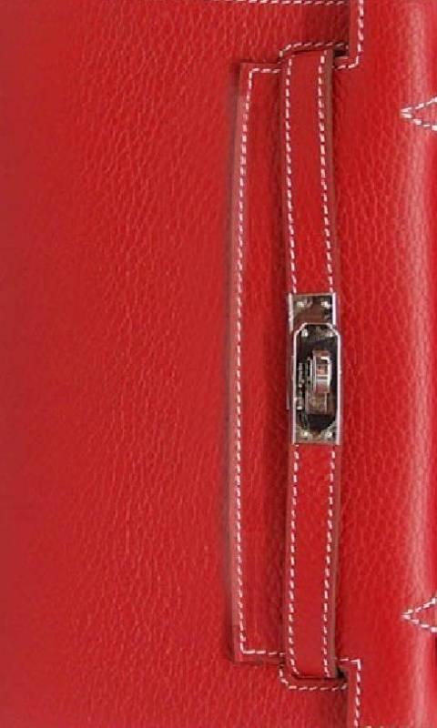 Red Hermes Birkin Wallpaper By Malinsvensson