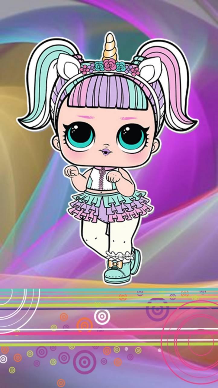 Lol doll unicorn