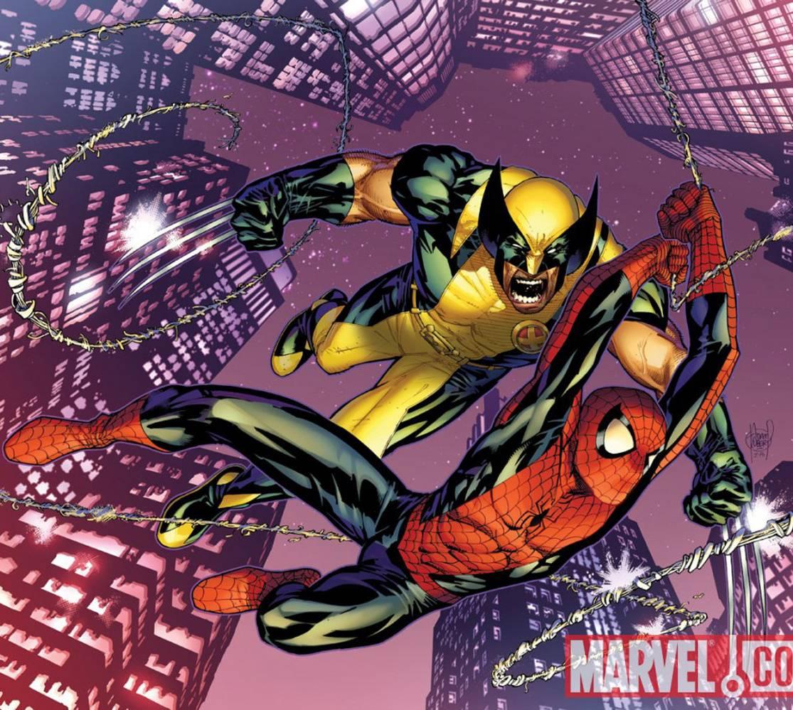 Wolverine And Spidey