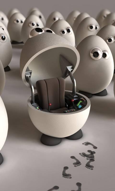 Robo Egg