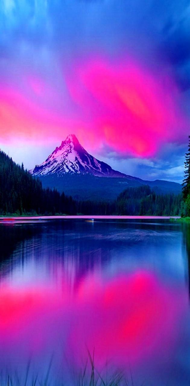 Glowing Lake