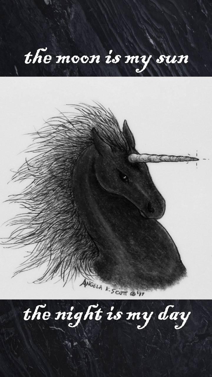 Moon Night Unicorn