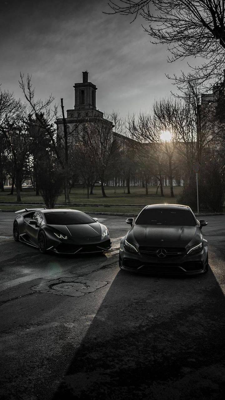Lambo and Benz