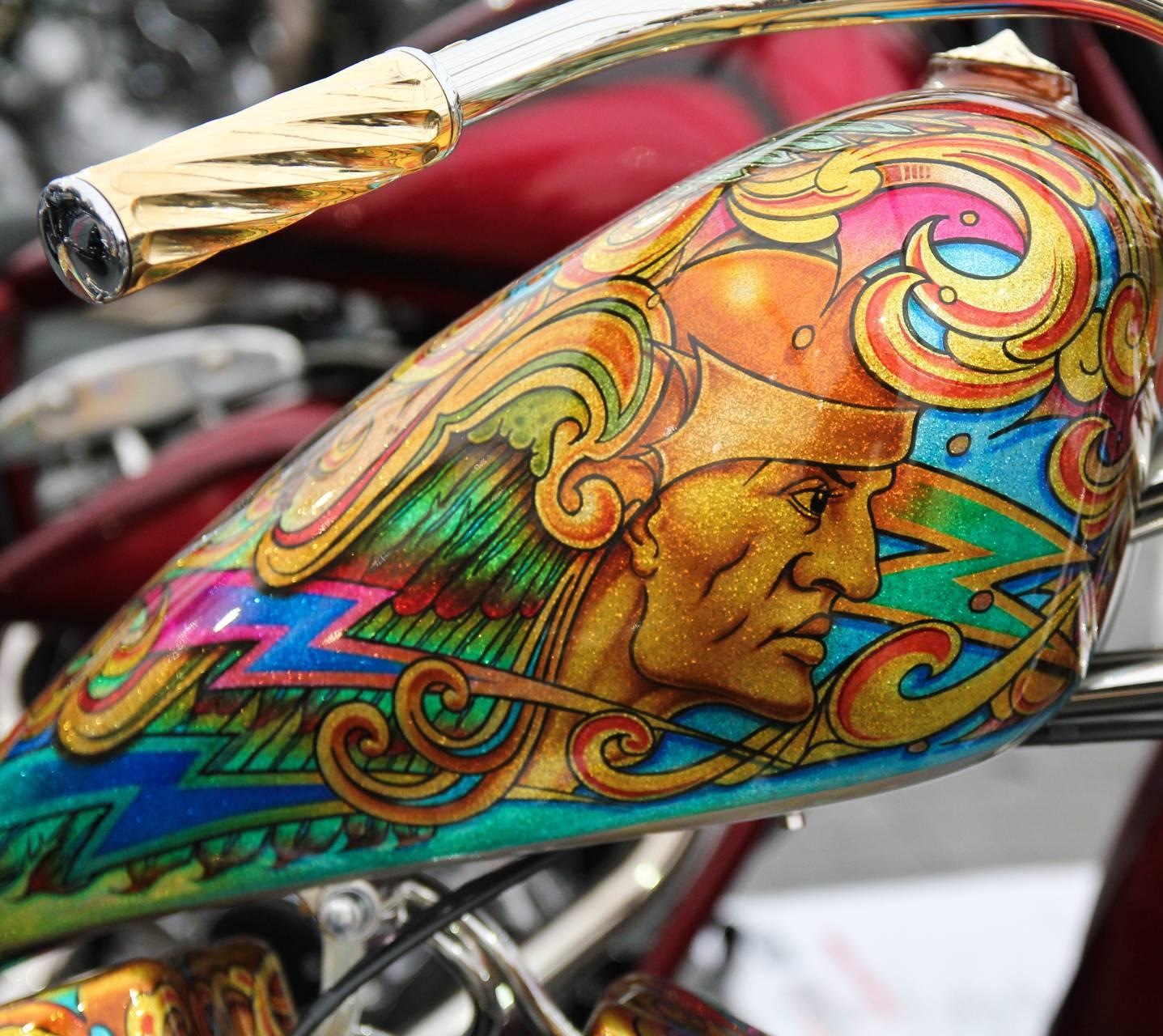 A Harley 9