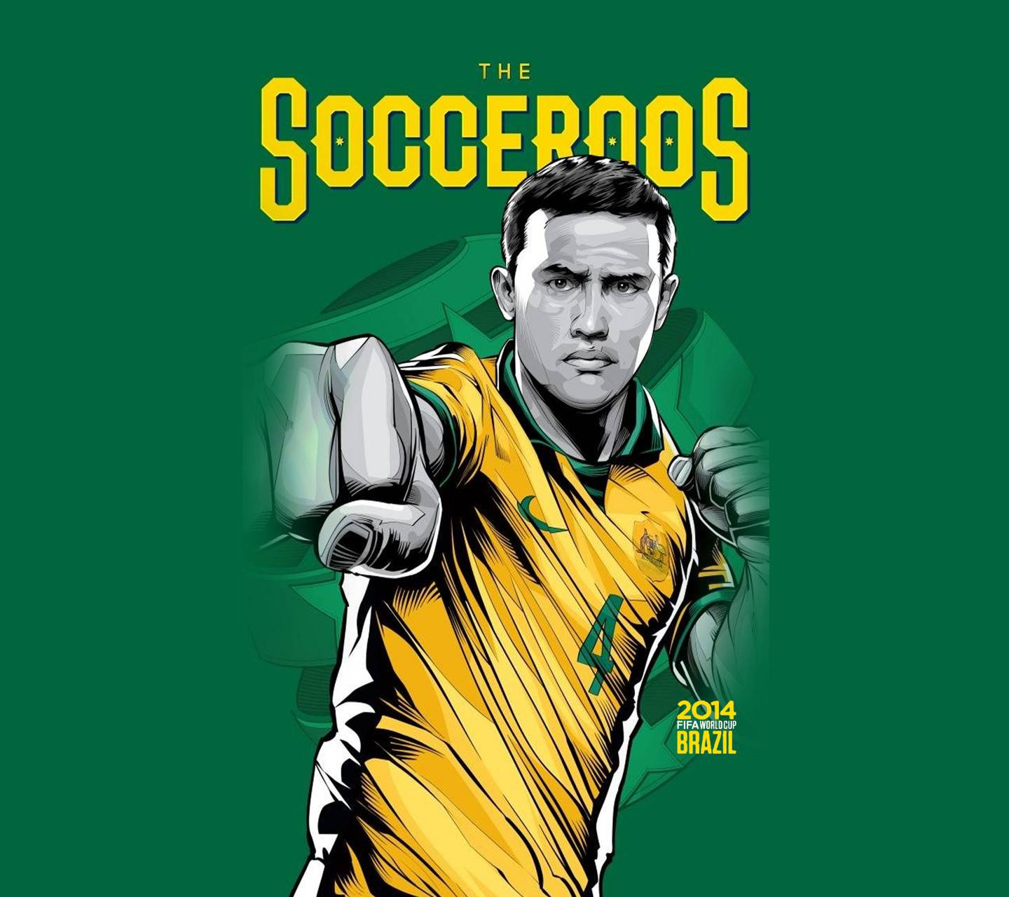 THE SOCCEROOS
