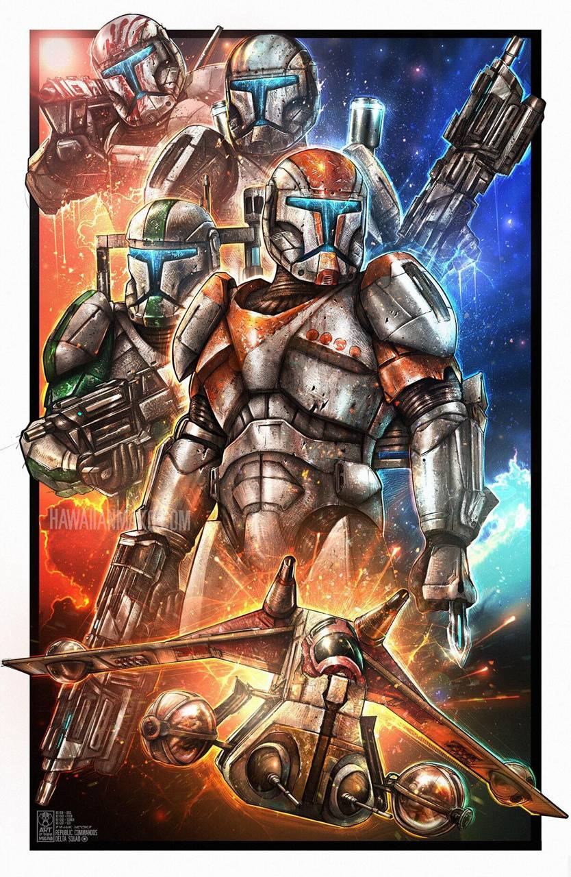 Clone Commandos Wallpaper By 0arkwing0 D2 Free On Zedge