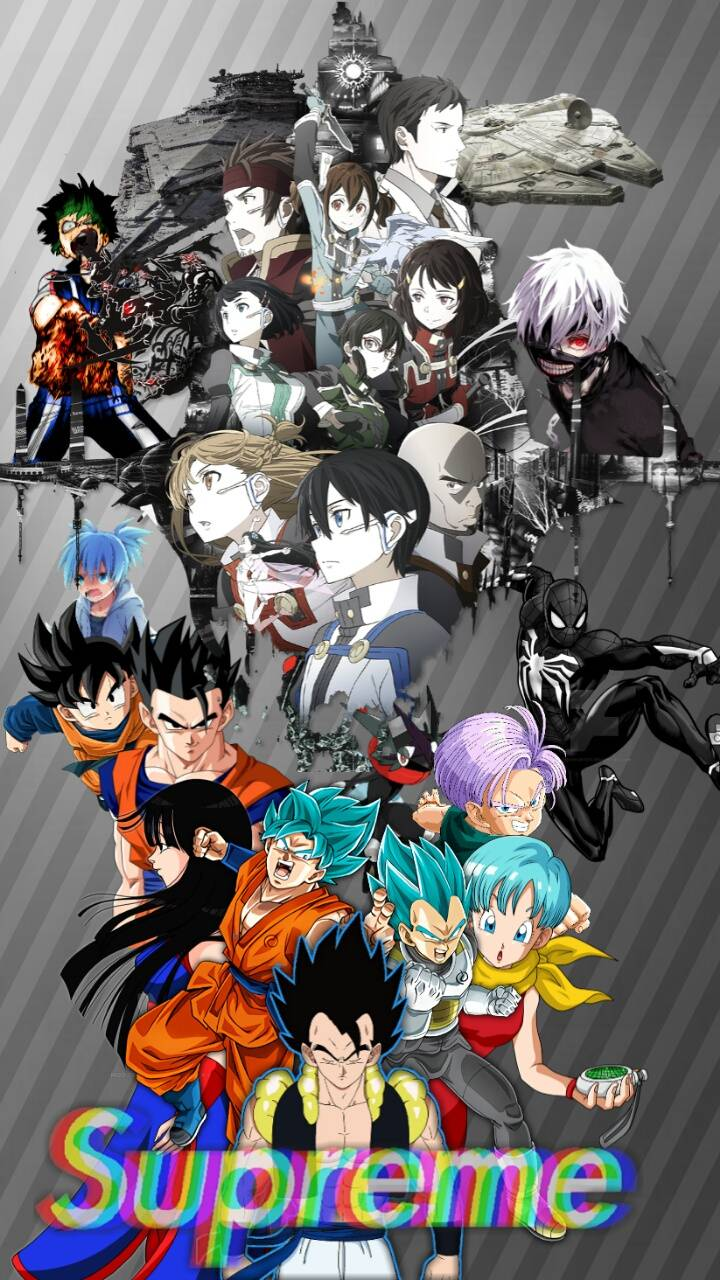 Supreme Super Anime Wallpaper By Kliriko 6c Free On Zedge