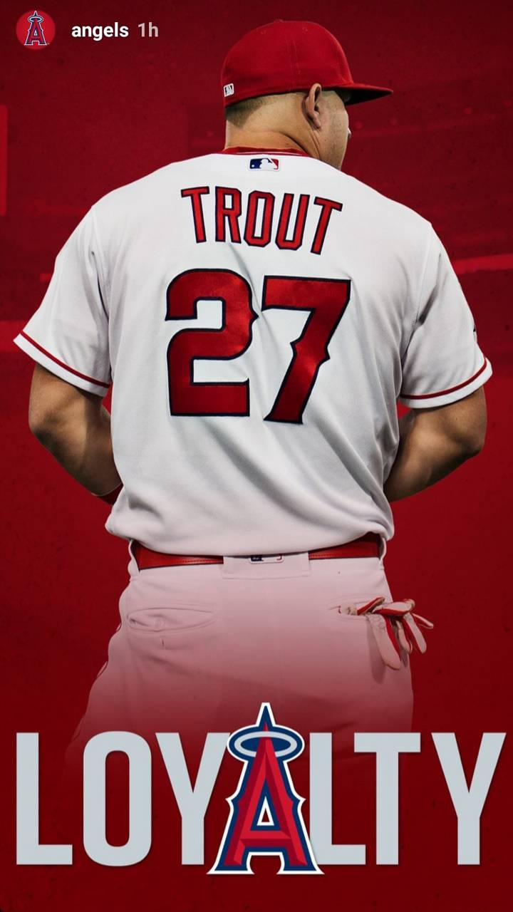 Mike Trout Wallpaper By Ferney951 81 Free On Zedge