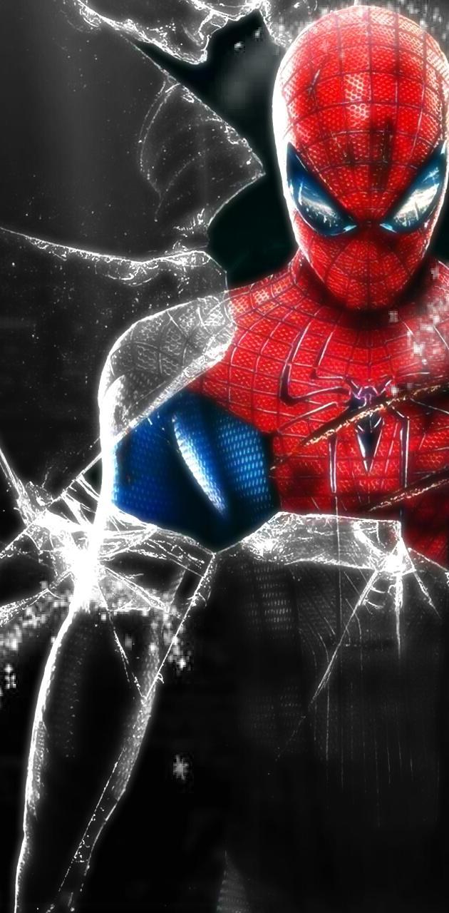 Spider-Man breaking