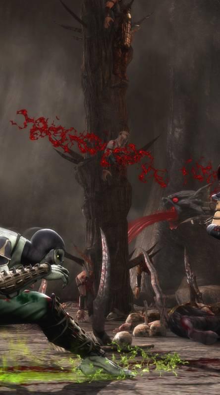 Reptile vs Skarlet