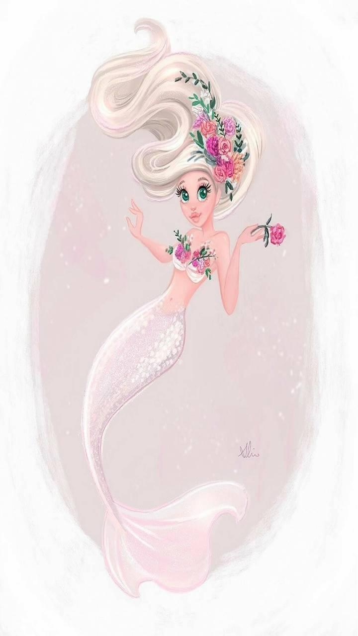 Rose Pink Mermaid