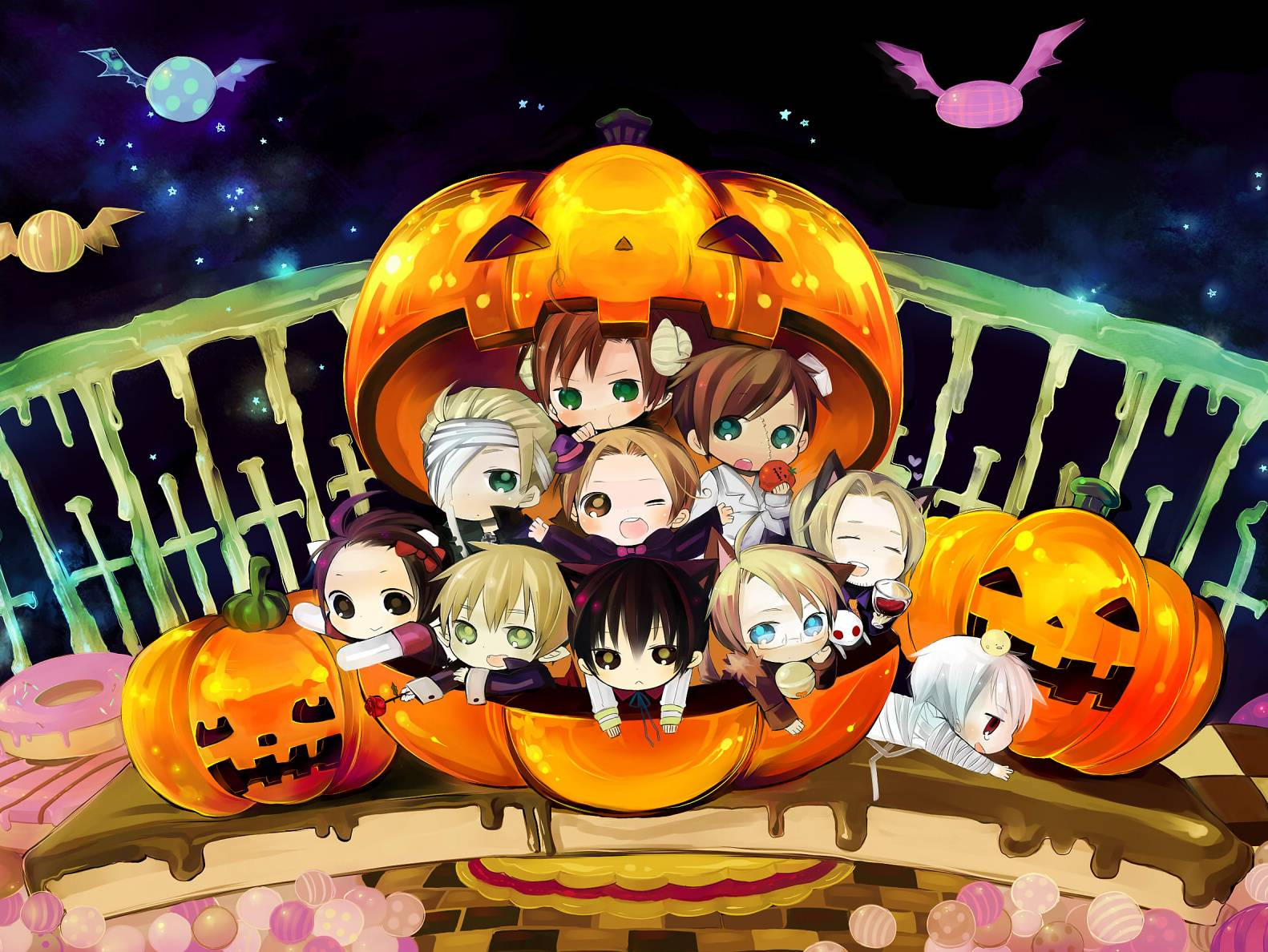 Hetalia Halloween