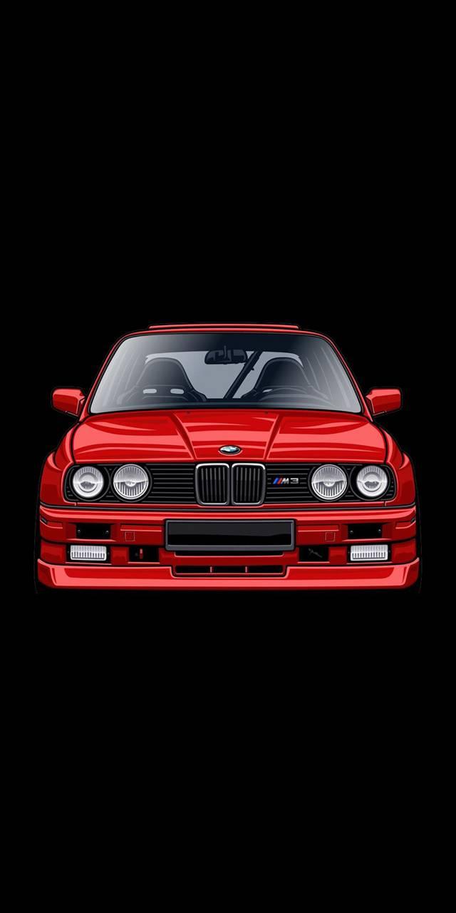 Bmw E30 M3 Evo Red