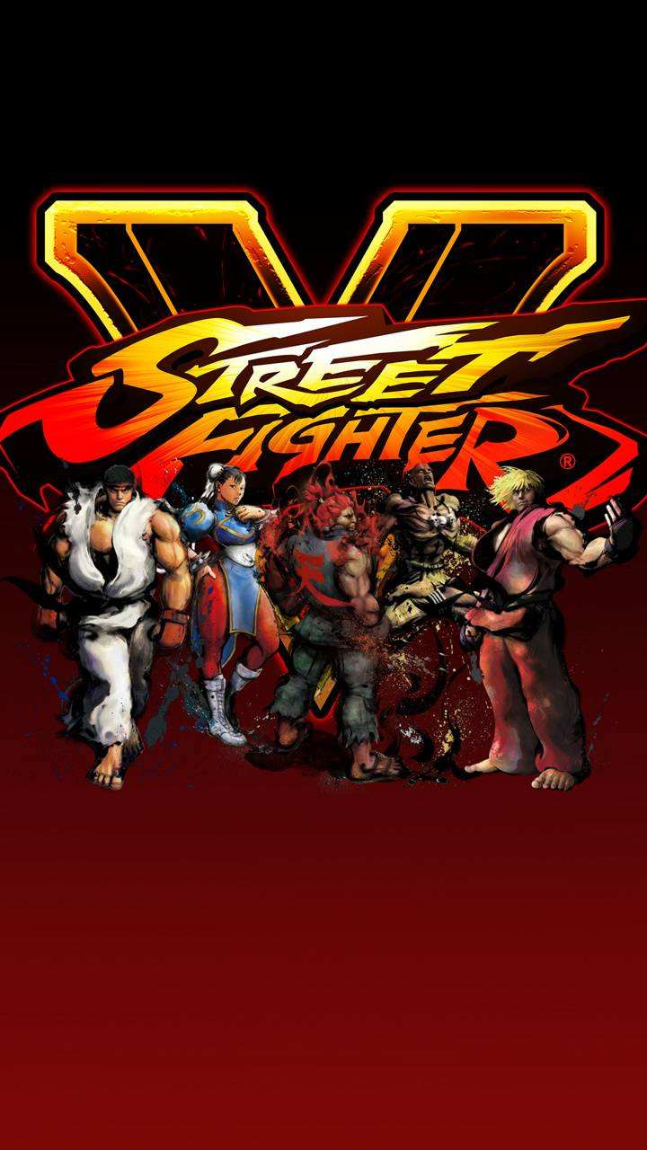 Street Fighter 5 Art