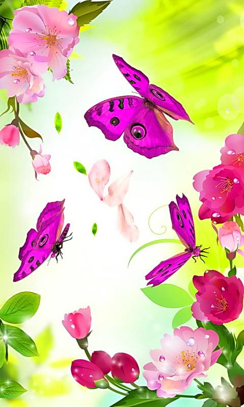Blossom Butterflies