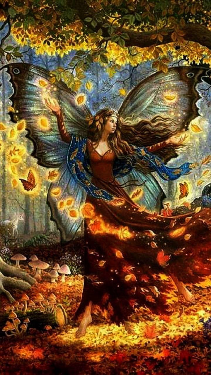 autumn fairy Wallpaper by kaeira 0d Free on ZEDGE™