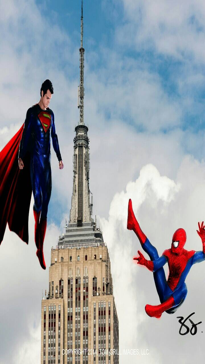 Spiderman V superman