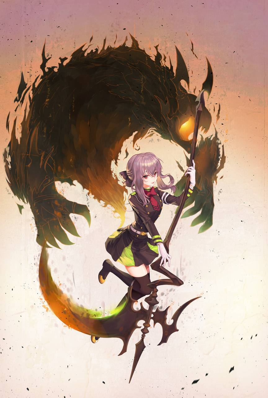Shinoa Wallpaper By Donbrocas 48 Free On Zedge