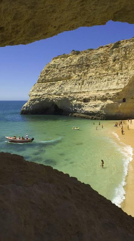 Beach Near Carvoeiro