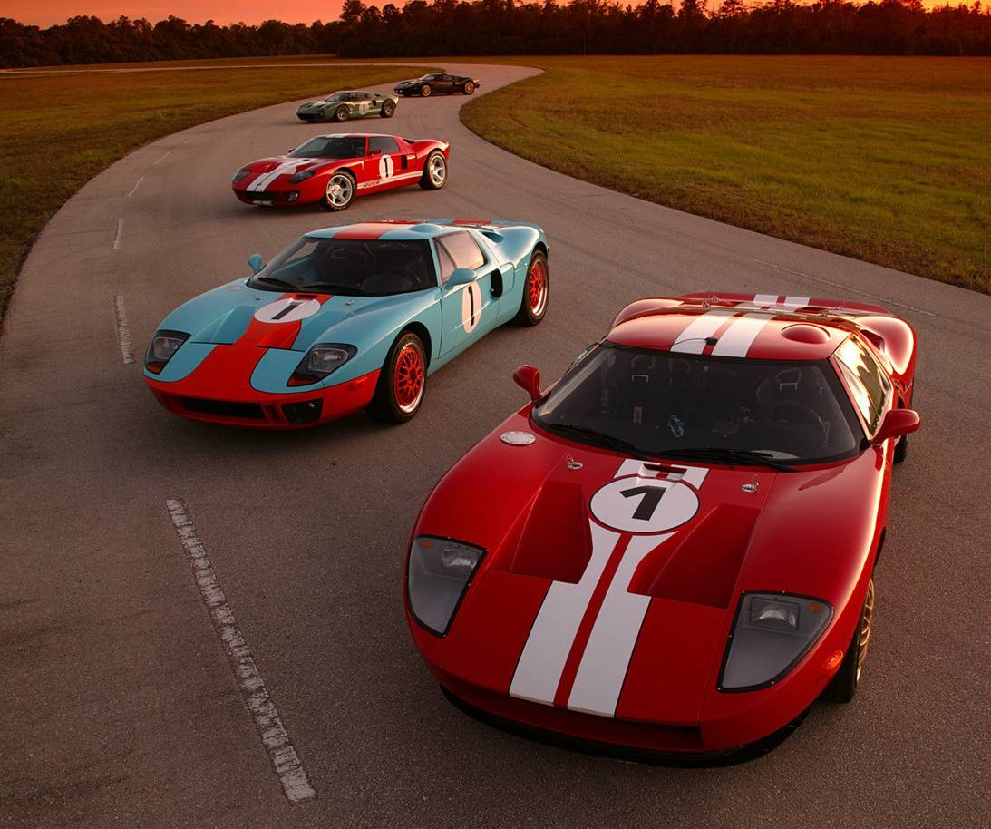 Ford Gt Line Up