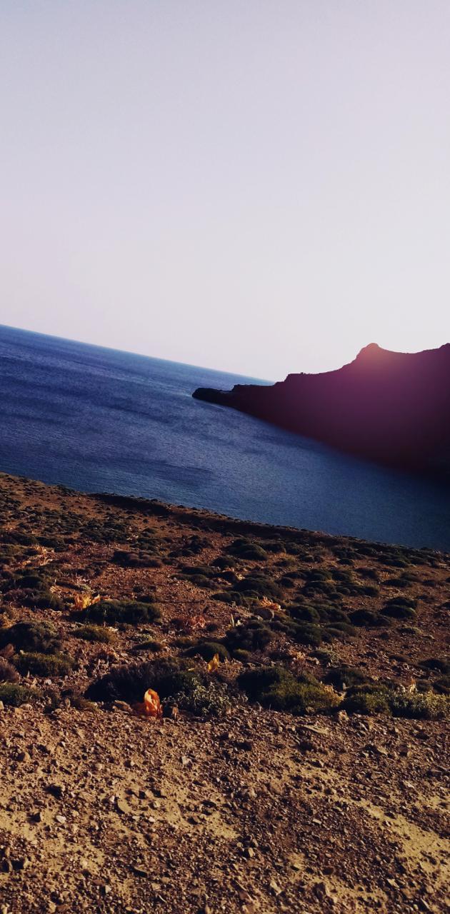 Sea in Cretan