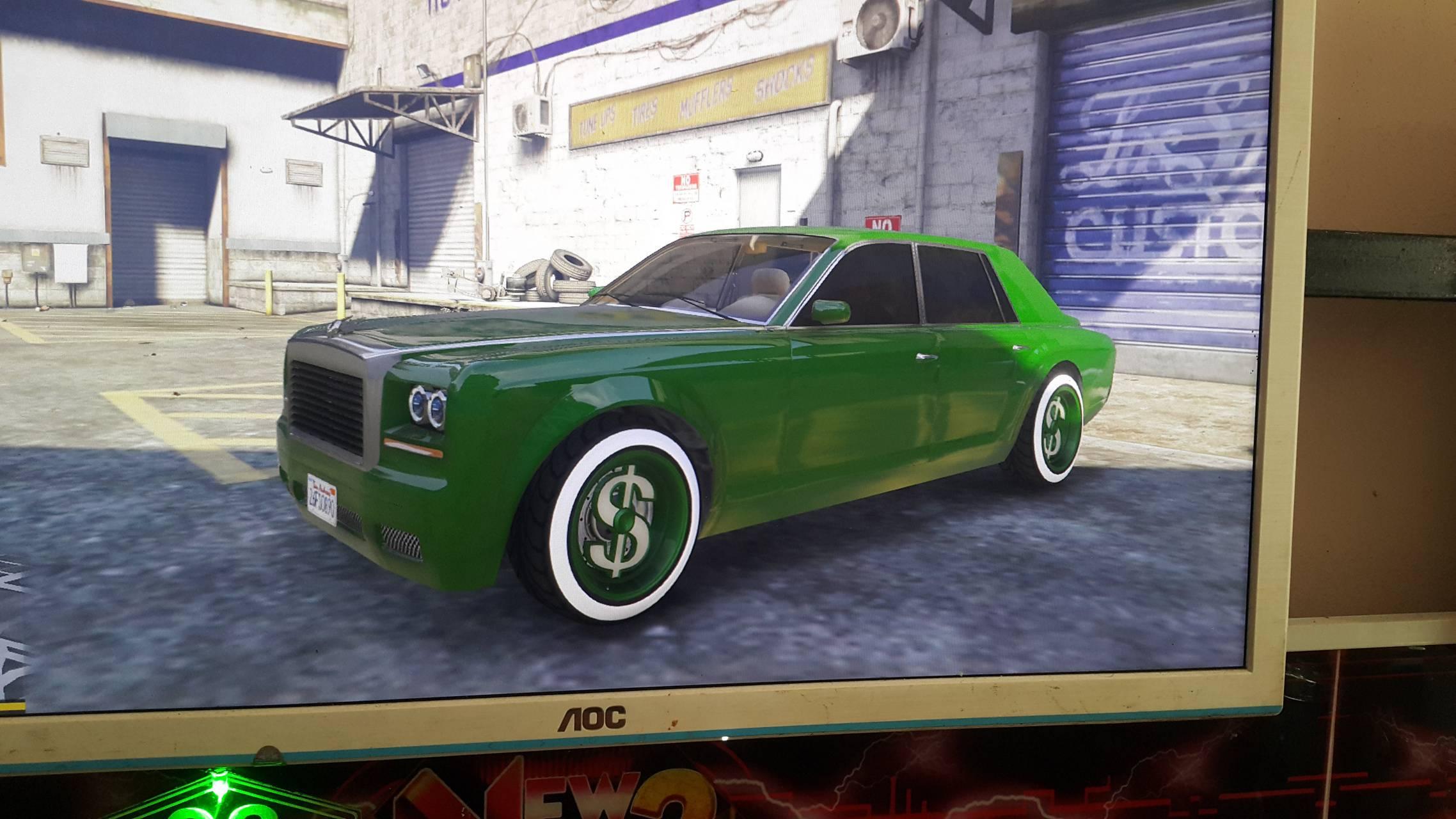 GTA V Custom Car