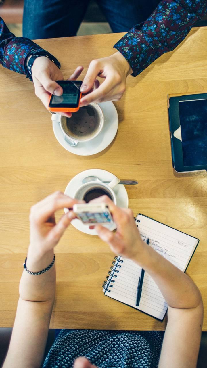 Coffee and tech