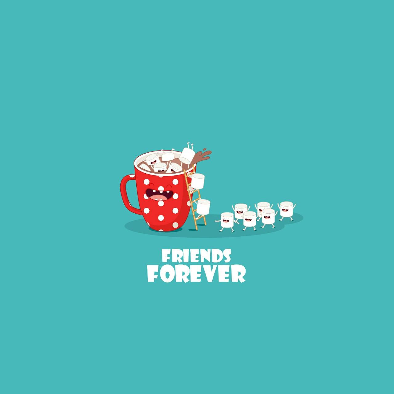 cute BFF wallpaper