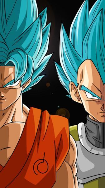 Goku y Vegeta Blue