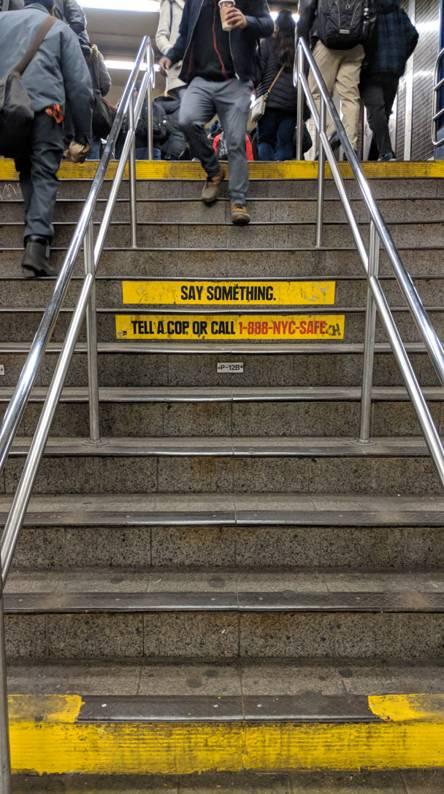 NYC Subway Stairs