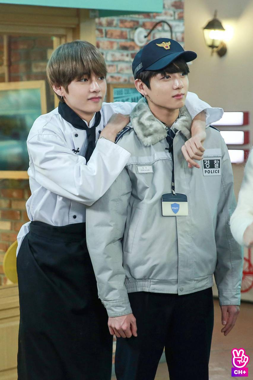 Jungkook and V