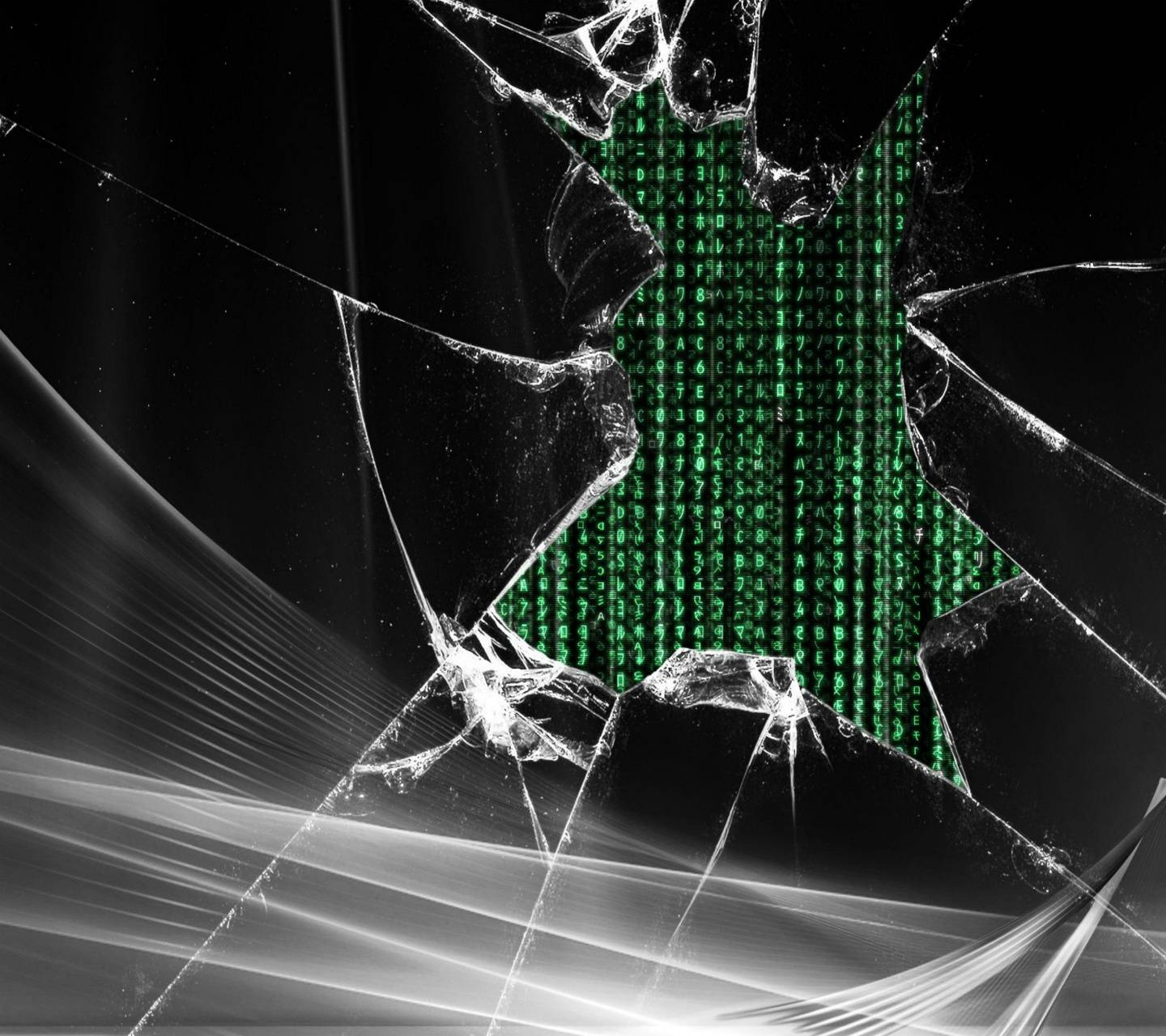 Broken Screen Wallpaper: Broken Screen Wallpaper By __LOV3ABL3__